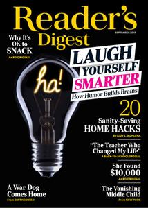 Reader's Digest USA - September 2019