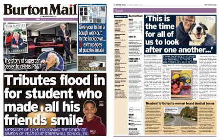 Burton Mail – April 02, 2020