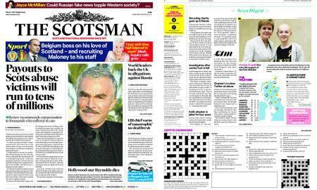 The Scotsman – September 07, 2018