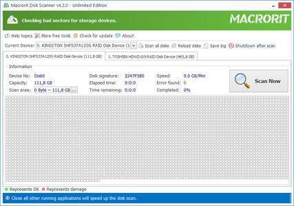 Macrorit Disk Scanner 4.2.0 (All Editions) + Portable