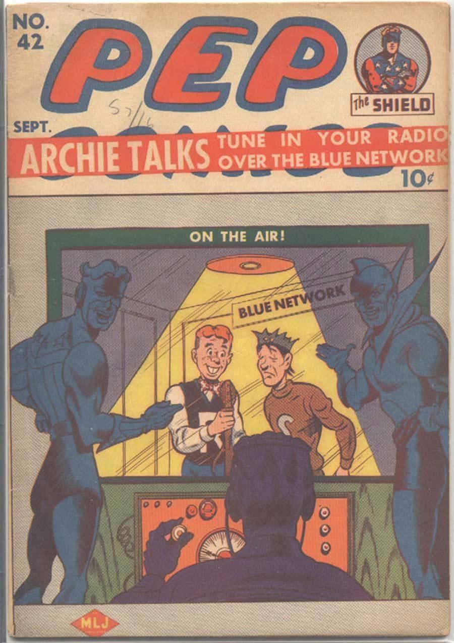 Some 40s  50s Archie  Friends -Pep Comics 42 1943