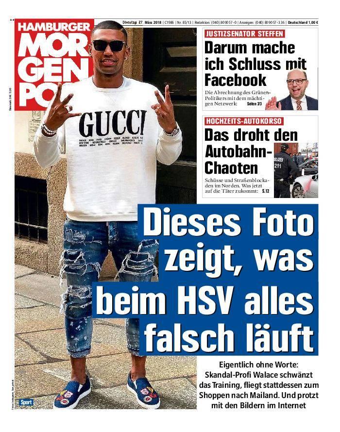 Hamburger Morgenpost - 27. März 2018
