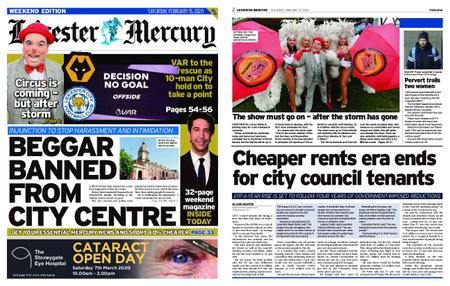 Leicester Mercury – February 15, 2020