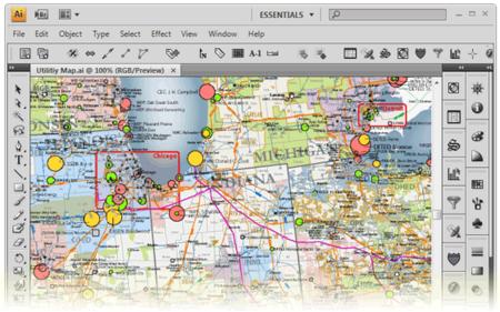 Avenza MAPublisher for Adobe Illustrator 9.8.1 (Win/Mac)