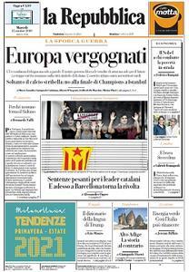 la Repubblica - 15 Ottobre 2019