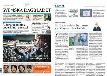 Svenska Dagbladet – 24 oktober 2018