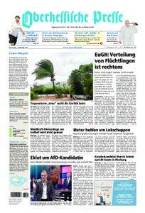 Oberhessische Presse Marburg/Ostkreis - 07. September 2017