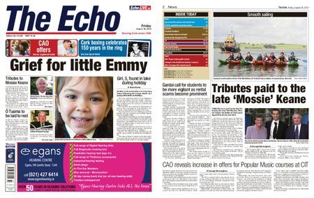 Evening Echo – August 16, 2019