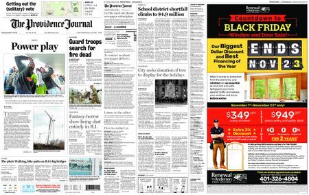 The Providence Journal – November 15, 2018