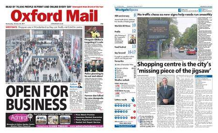 Oxford Mail – October 25, 2017