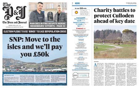 The Press and Journal Moray – April 15, 2021