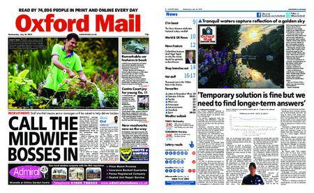 Oxford Mail – July 18, 2018