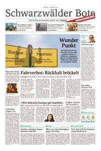 Schwarzwälder Bote Hechingen - 29. März 2019