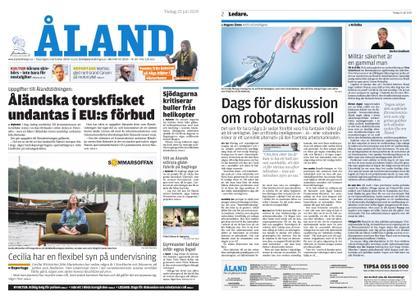 Ålandstidningen – 23 juli 2019