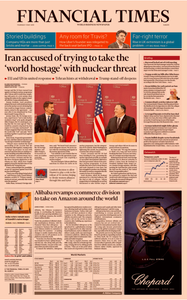 Financial Times Europe – 9 May 2019
