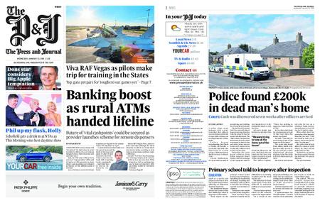 The Press and Journal Moray – January 23, 2019