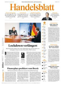 Handelsblatt - 20 Januar 2021