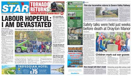 Shropshire Star Shrewsbury Edition – November 06, 2019