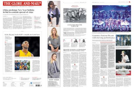 The Globe and Mail – January 27, 2020