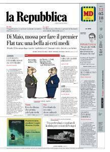 la Repubblica - 12 Maggio 2018