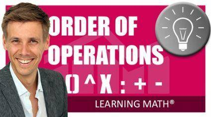 Math Explained Easy 1 - Order of Operations, what first?