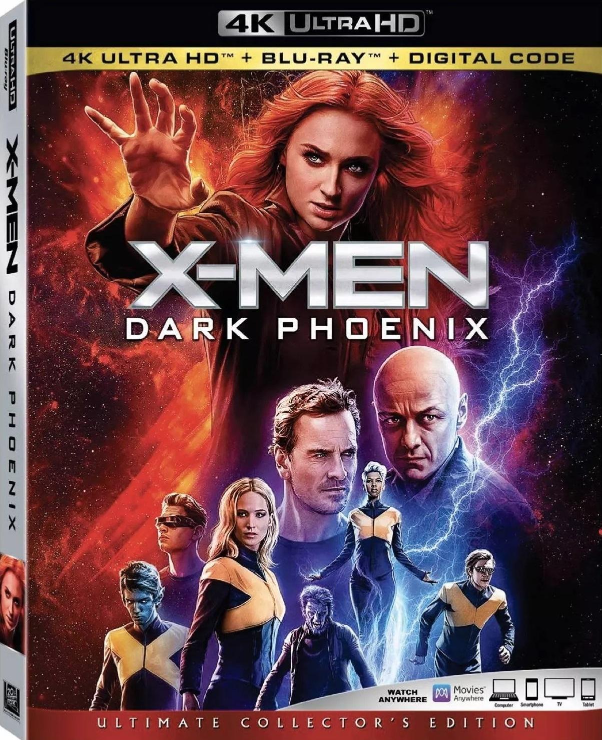Dark Phoenix (2019) [4K, Ultra HD]