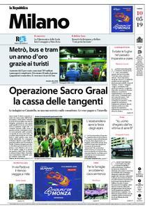 la Repubblica Milano – 10 maggio 2019