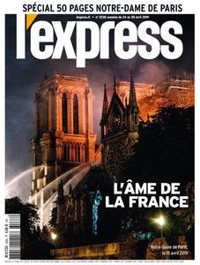 L'Express - 24 avril 2019