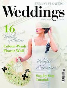 Fusion Flowers - Weddings – July 2018