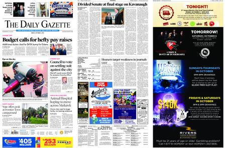 The Daily Gazette – October 05, 2018