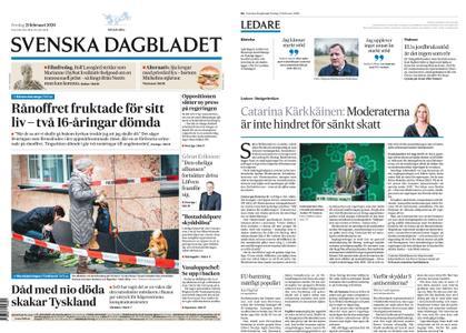 Svenska Dagbladet – 21 februari 2020