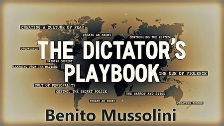 PBS - The Dictators Playbook Series 1: Part 3 Benito Mussolini (2019)