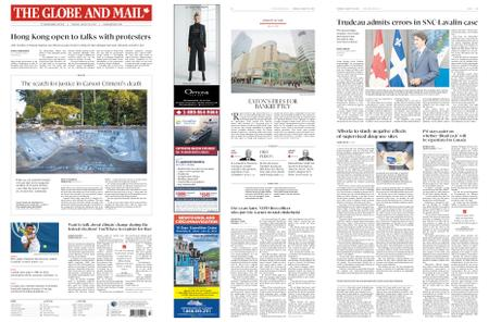 The Globe and Mail – August 20, 2019