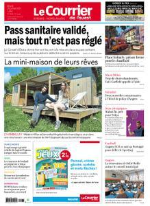Le Courrier de l'Ouest Angers – 20 juillet 2021