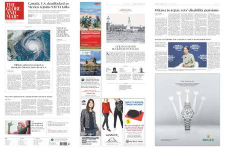 The Globe and Mail – September 13, 2018