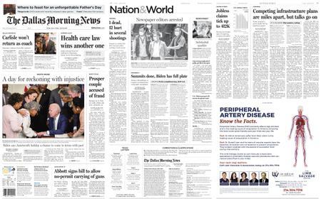 The Dallas Morning News – June 18, 2021