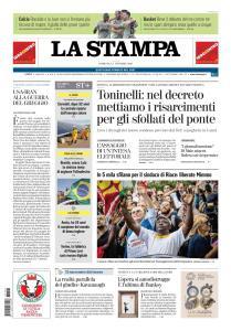 La Stampa Torino Provincia e Canavese - 7 Ottobre 2018