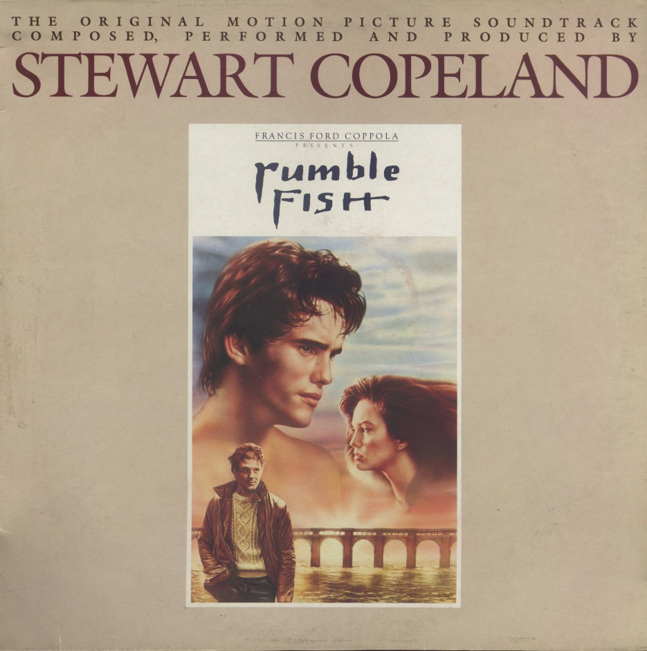 Stewart Copeland - Rumble Fish (1983) Original UK Pressing - LP/FLAC In 24bit/96kHz