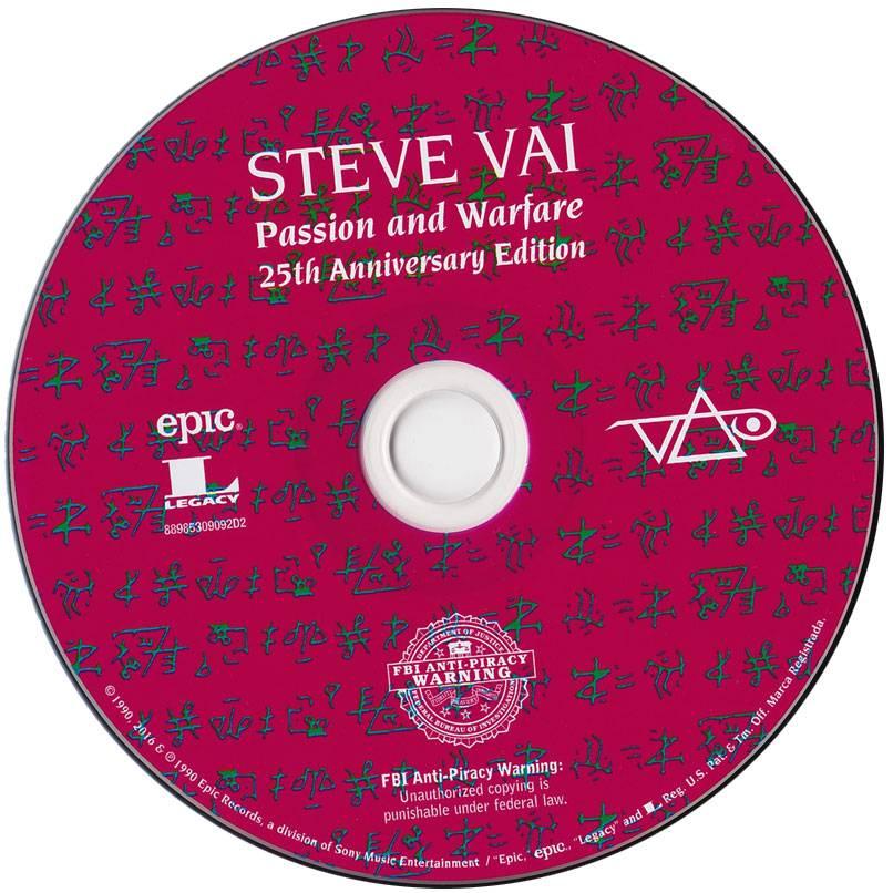 Steve Vai - Modern Primitive / Passion And Warfare (25th Anniversary Edition) (2016)