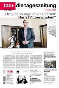 taz. die tageszeitung - 16. Mai 2018