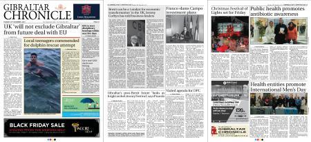Gibraltar Chronicle – 20 November 2018
