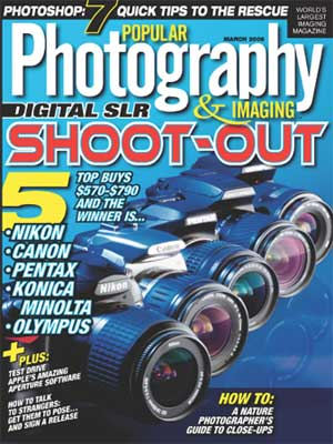Popular Photography & Imaging Magazine March 2006