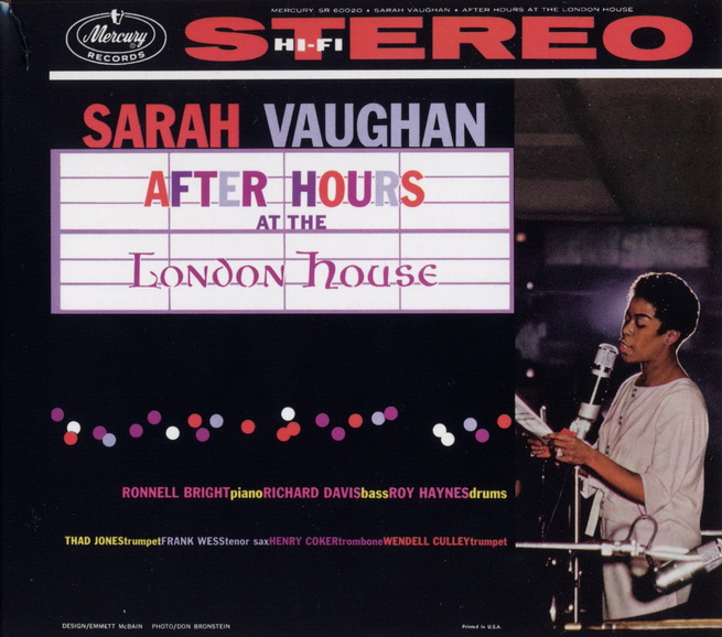 Sarah Vaughan - After Hours At The London House (1959) [Remastered 2005]