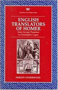 English Translators Homer (Writers and Their Work (Paperback))