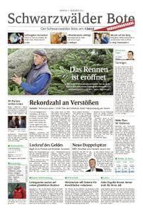 Schwarzwälder Bote Hechingen - 04. Dezember 2017