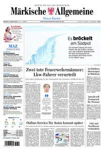 Märkische Allgemeine Dosse Kurier - 02. Oktober 2019