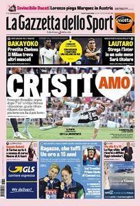La Gazzetta dello Sport - 13 Agosto 2018