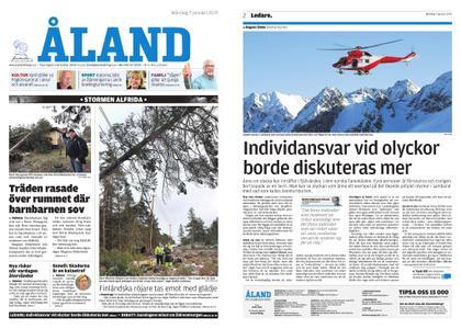 Ålandstidningen – 07 januari 2019
