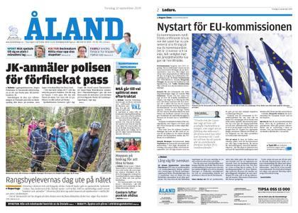 Ålandstidningen – 12 september 2019