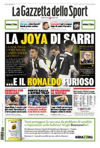 La Gazzetta dello Sport Roma – 11 novembre 2019